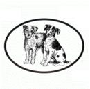 Intrepid International Dog Decal - Jack Russell