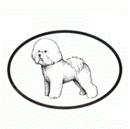 Intrepid International Dog Decal - Bichon Frise