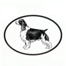 Intrepid International Dog Decal - English Springer Spaniel