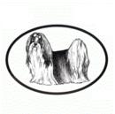 Intrepid International Dog Decal - Shih Tzu