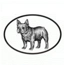 Intrepid International Dog Decal - French Bulldog