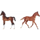 Breyer Best Of Britian Foal Set Thoroughbred/Hackney 2019