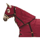 Intrepid International Snuggie Quilted Hood-Burgundy