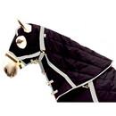 Intrepid International Snuggie Quilted Hood-Black