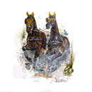 Jan Kunster Horse Prints - Virginia (Driving)