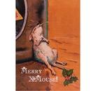 Haddington Green Equestrian Art HGC484X Christmas Cards, Merry X Mouse 10 Pack