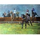 Malcom Coward Horse Prints - Home Alone (Horse Racing)