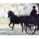 Malcom Coward Horse Prints - Pony and Trap