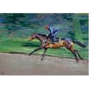 Malcom Coward Horse Prints - Exercising (Horse Racing)