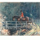 Malcom Coward Horse Prints - Bridge Over Troubled Waters (Fox Hu