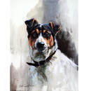 Sally Mitchell Fine Art Dog Prints - Jack Russell