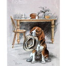 Corinium Fine Art Dog Prints - Beagle