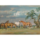 Alfred Munnings Horse Prints - Rose, Wildbird, Peggy and Stockin