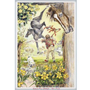 Haddington Green Equestrian Art Jude Too Greeting Cards - Improve Your Lifestyle - 6 pack