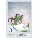 Haddington Green Equestrian Art Jude Too Greeting Cards - The Presents - 6 pack
