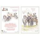 Haddington Green Equestrian Art Jude Too Greeting Cards - Horses - You Should Have Gone Right -