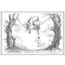 Haddington Green Equestrian Art Jude Too Greeting Cards - The Balancing Rein - 6 pack