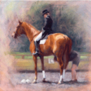 Sally Martin Horse Prints - Final Adjustments (Dressage)