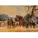Haddington Green Equestrian Art HGMUS3X Christmas Cards - The Highflyer - 10 Pack