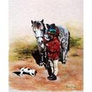 Sally Mitchell Fine Art Horse Prints - Happy Days
