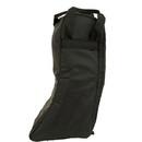 High Spirit Lined English Boot Bag Black Plaid