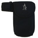 Intrepid International Cell Phone Case Blk W/Dressage Embroidery