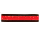 Intrepid International Reflective Bridle strap Red