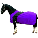 Fortex Exselle Prima Blanket-Purple with Black