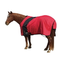 Fortex Exselle Prima Blanket-Red with Black