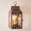 Irvin's Tinware 129-3COP Martha's Wall Lantern in Antique Copper