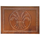 Irvin's Tinware 398RT Horizontal Wheat Panel in Rustic Tin