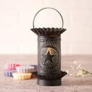 Irvin's Tinware 541RGSKB Mini Wax Warmer with Regular Star in Kettle Black