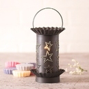 Irvin's Tinware 541STKB Mini Wax Warmer with Country Star in Kettle Black