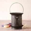 Irvin's Tinware 608CKB Jumbo Wax Warmer with Chisel in Kettle Black
