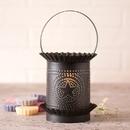 Irvin's Tinware 608RGSKB Jumbo Wax Warmer with Regular Star in Kettle Black