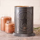 Irvin's Tinware 733RGSCT Candle Warmer with Regular Star in Country Tin