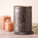 Irvin's Tinware 733RGSKB Candle Warmer with Regular Star in Kettle Black