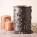 Irvin's Tinware 733STKB Candle Warmer with Country Star in Kettle Black