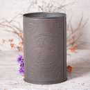 Irvin's Tinware 777RGSBT Waste Basket in Regular Star in Blackened Tin