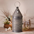 Irvin's Tinware 804CBT 27-Inch Blacksmith's Lantern with Chisel in Blackened Tin