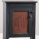 Irvin's Tinware 807RT Vertical Willow Panel in Rustic Tin