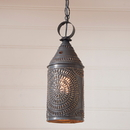 Irvin's Tinware 863CBT 15-Inch Electrified Hanging Lantern in Blackened Tin