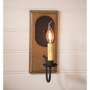 Irvin's Tinware 9191TPWD Wilcrest Sconce in Pearwood