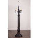 Irvin's Tinware 9200TBOR General James Floor Lamp Base in Americana Black
