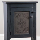Irvin's Tinware 928BT Homespun Panel in Blackened Tin