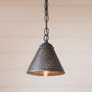 Irvin's Tinware 934CKB Crestwood Shade Light in Kettle Black