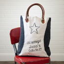 Irvin's Tinware B15-13 Black Star Tote Bag