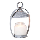 Irvin's Tinware K14-01WZ Canopy Candle Holder in Weathered Zinc