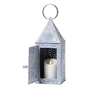 Irvin's Tinware K14-30WZ Square Lantern In Weathred Zinc