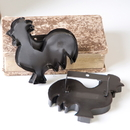 Irvin's Tinware K14-60 Decorative Cookie Cutter - Rooster